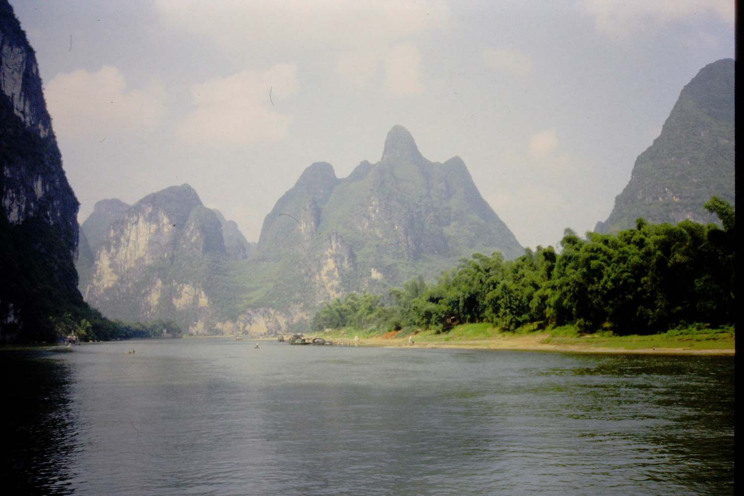 A photo from China, scanned by a Magnasonic scanner