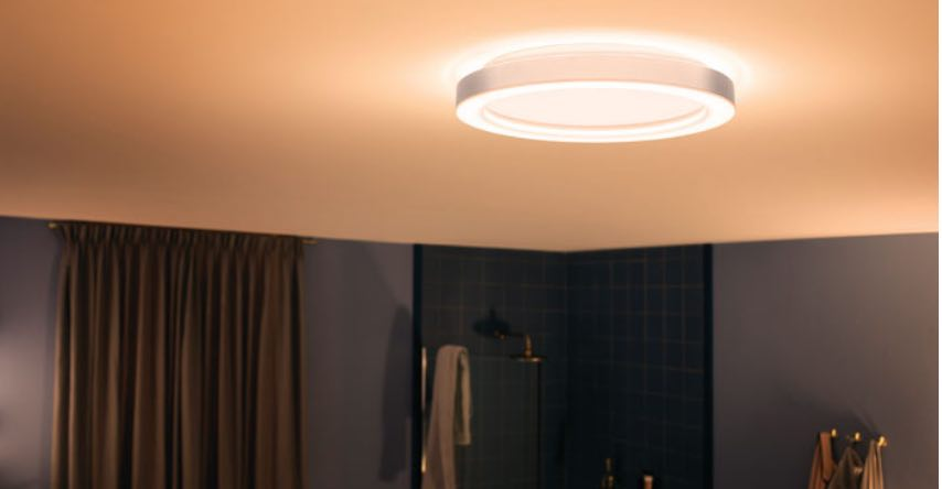 Take A Look At Philips Hue Lighted Bathroom Vanity Mirror