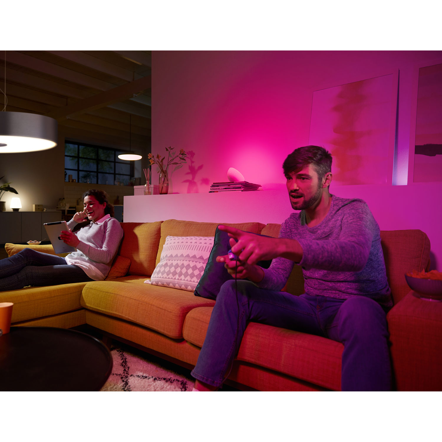 Phillips Hue smart lights