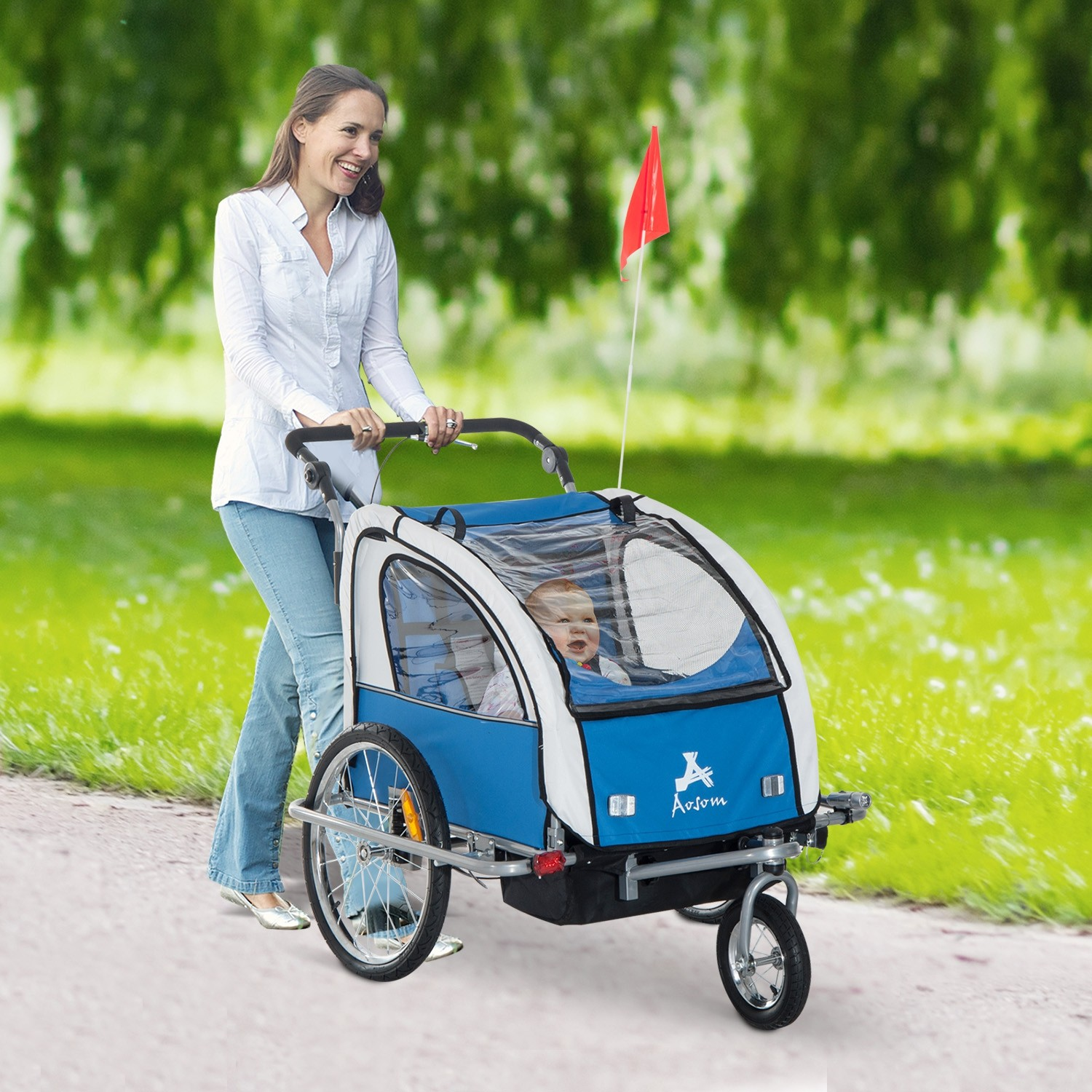 stroller buying guide - aosom baby bike trailer stroller
