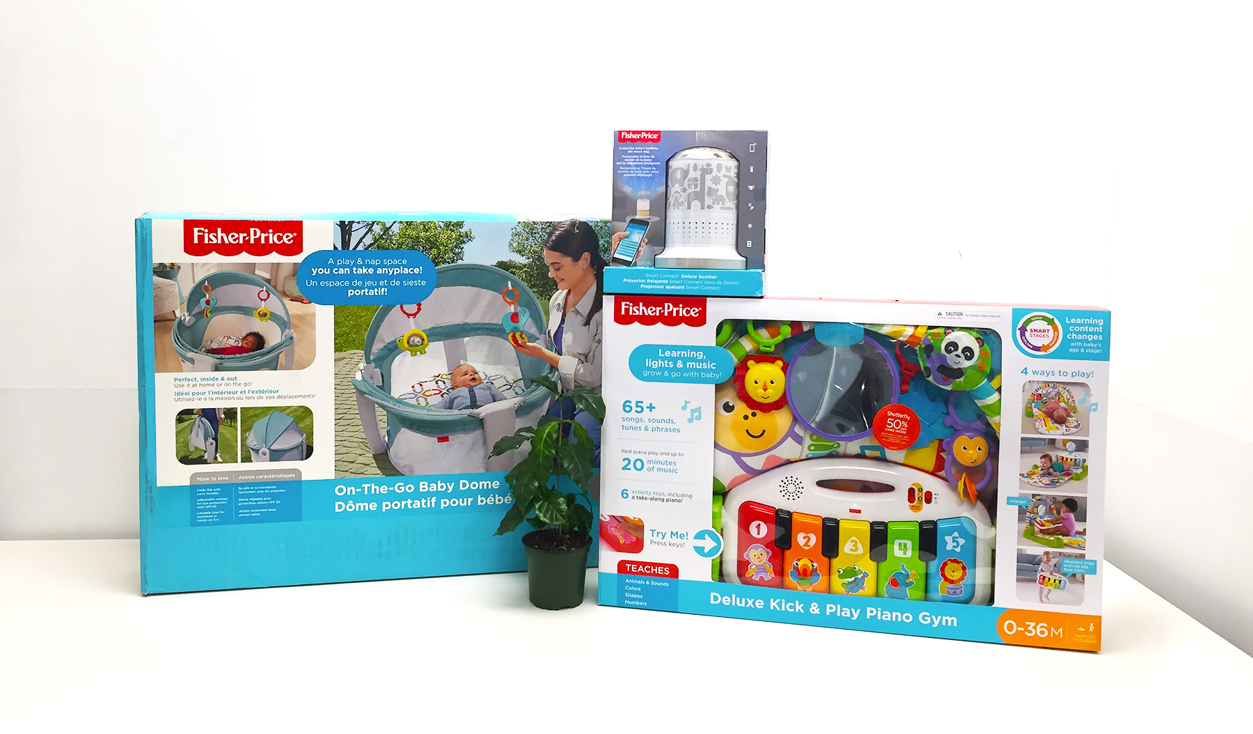Enter for a chance to win Fisher Price Baby Gear