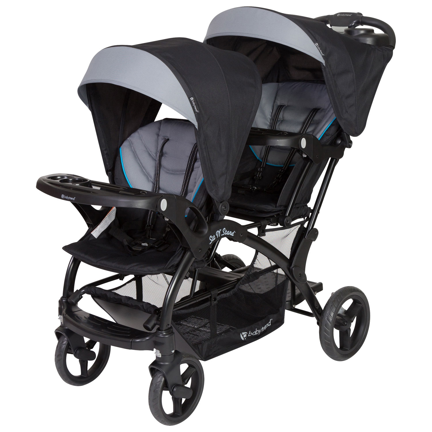 stroller buying guide - baby trend sit n stand double stroller