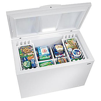 compartments deep freezer