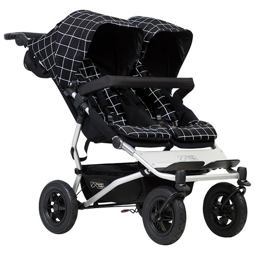 stroller buying guide - mountain buggy duet double stroller