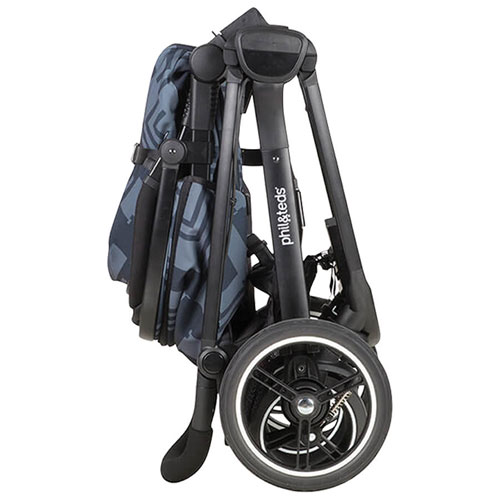 stroller buying guide - phil and teds stroller collapsed