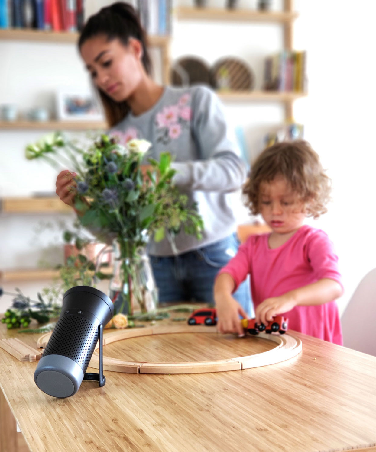 wynd essential air purifier review - wynd essential air purifier with kids stock