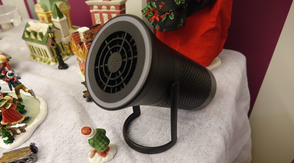 wind air purifier review - wynd essential smart air purifier with kickstand
