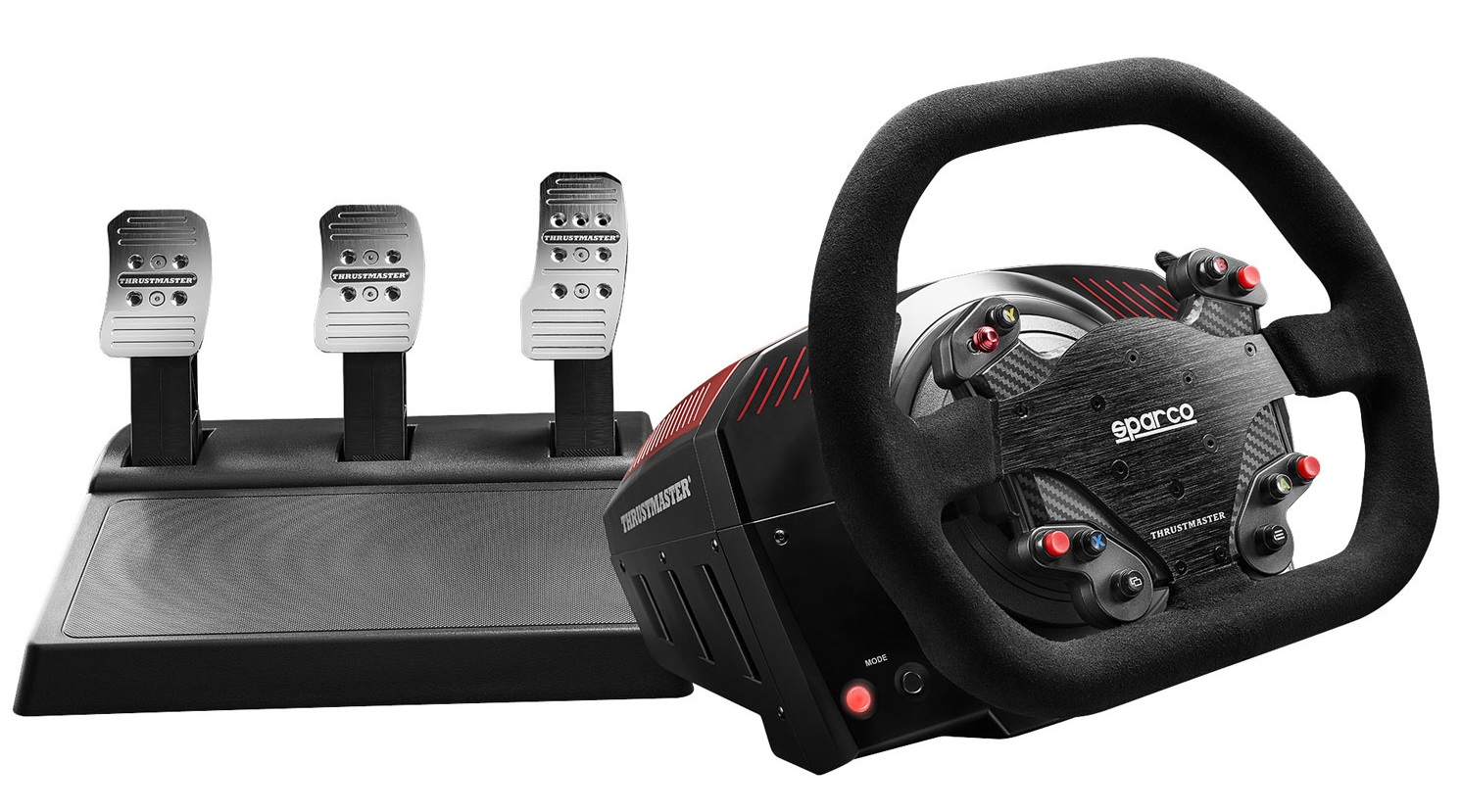 steering wheel and pedals for your simulator pc