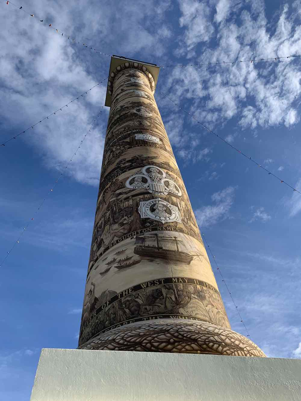 Astoria Column New Year Day