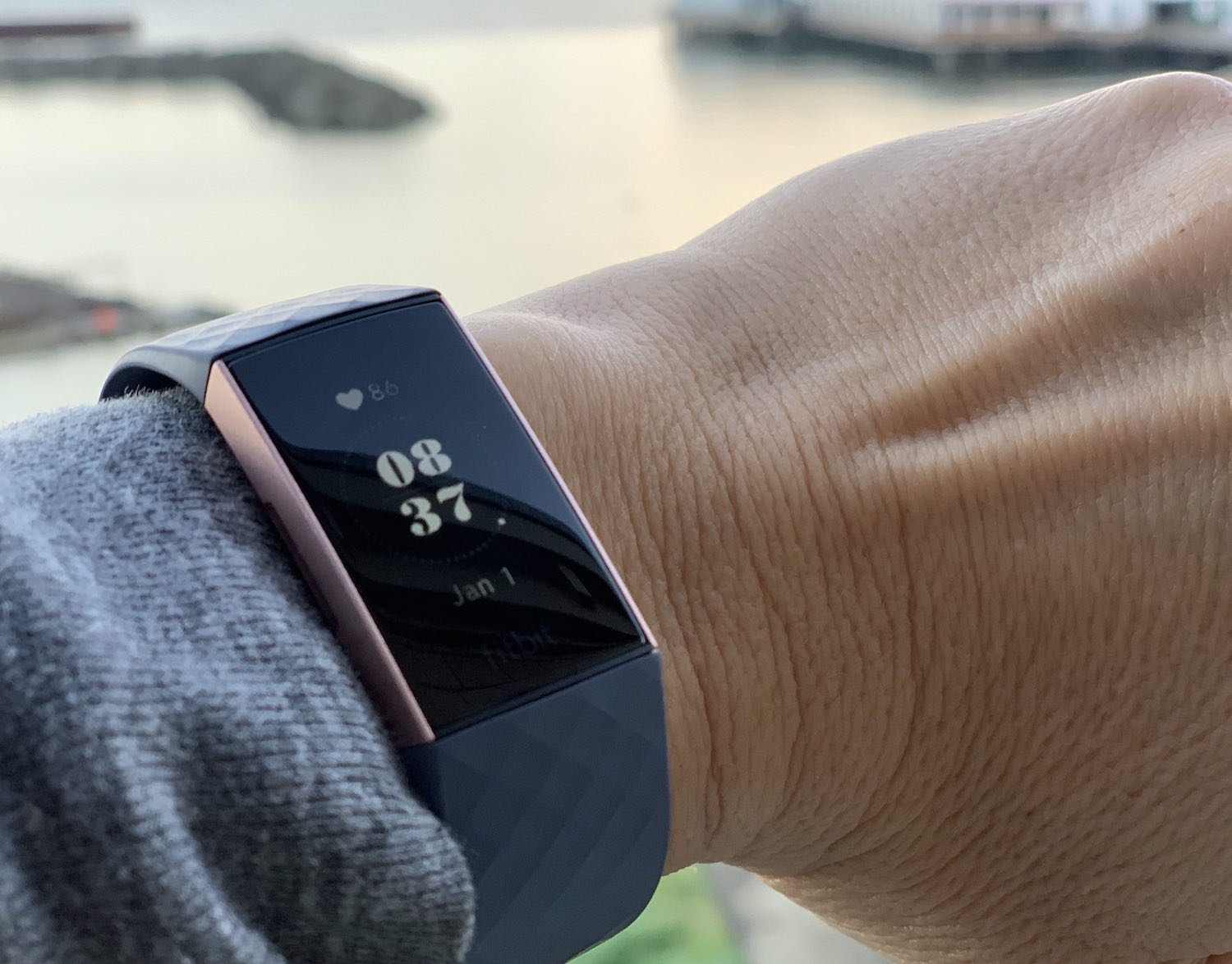 Fitbit Charge 3 heart rate
