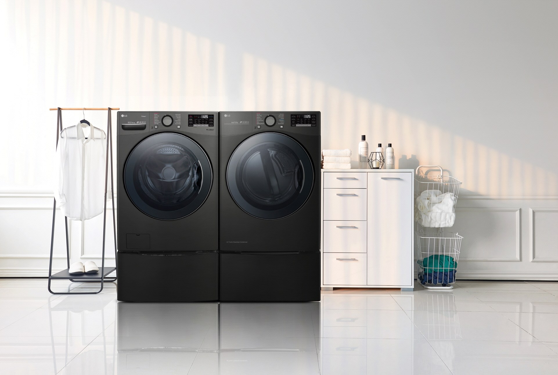 LG TWINWash washer and dryer CES 2019