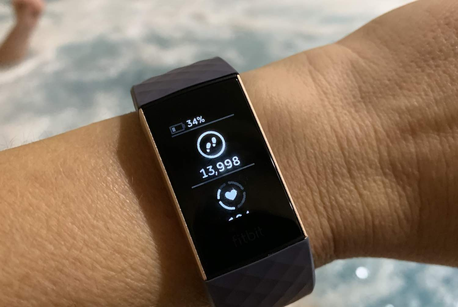 Using Fitbit Charge 3