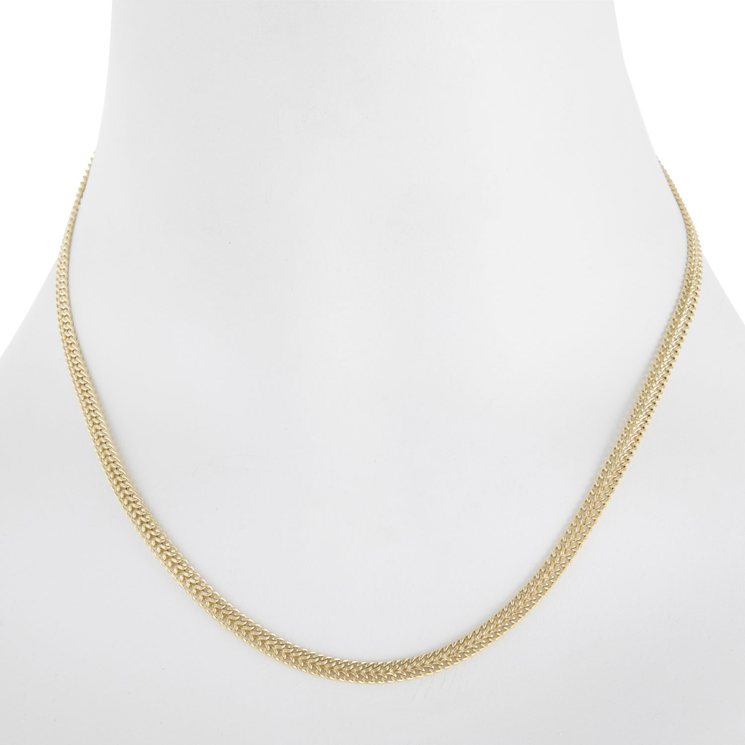 gold chain necklace selection