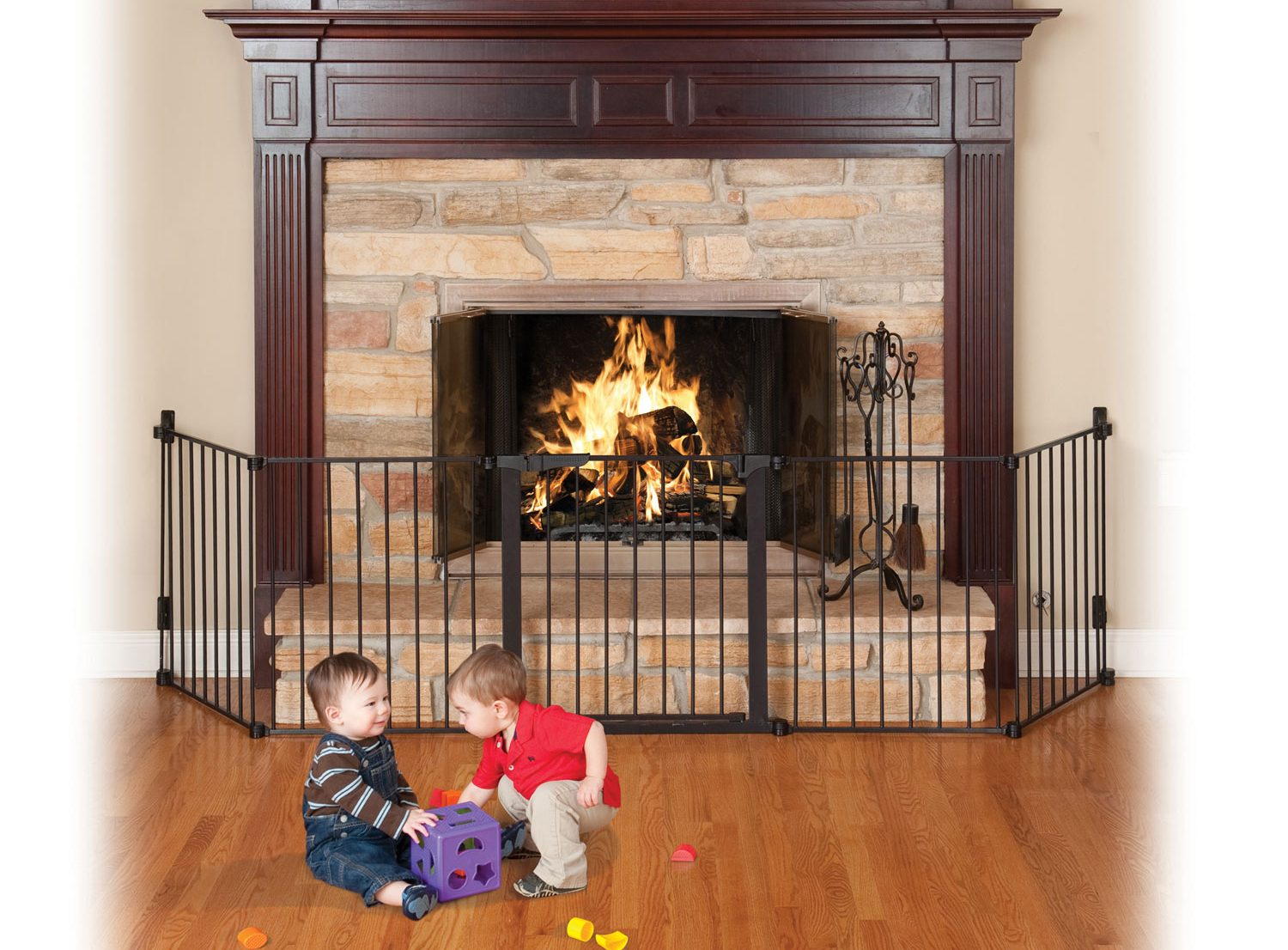 baby proof fireplaces
