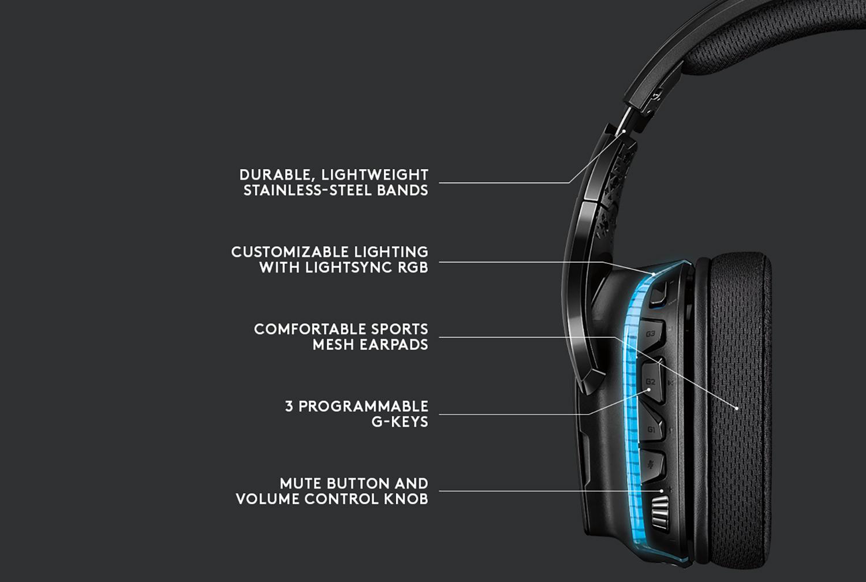 Logitech G935 Gaming Headsets