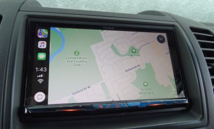 Pioneer NEX review Apple CarPlay