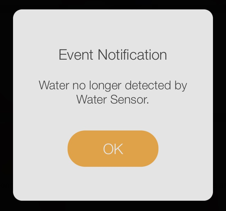 D-Link Wi-Fi Water Sensor Event Notification End