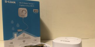 D-Link Wi-Fi Water Sensor Featured