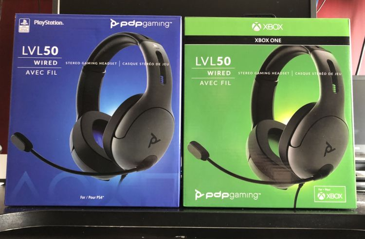 PDP Gaming LVL 50 wired headsets