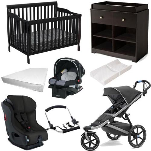 bundle baby gear - bebelelo 8 piece baby gear set