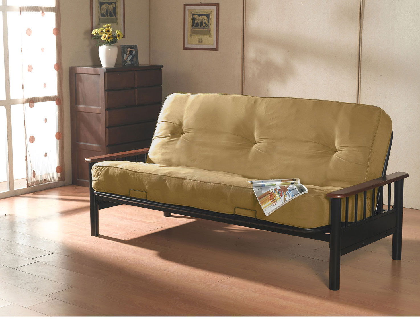 contemporary futon