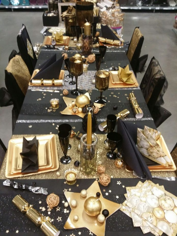 award show party table