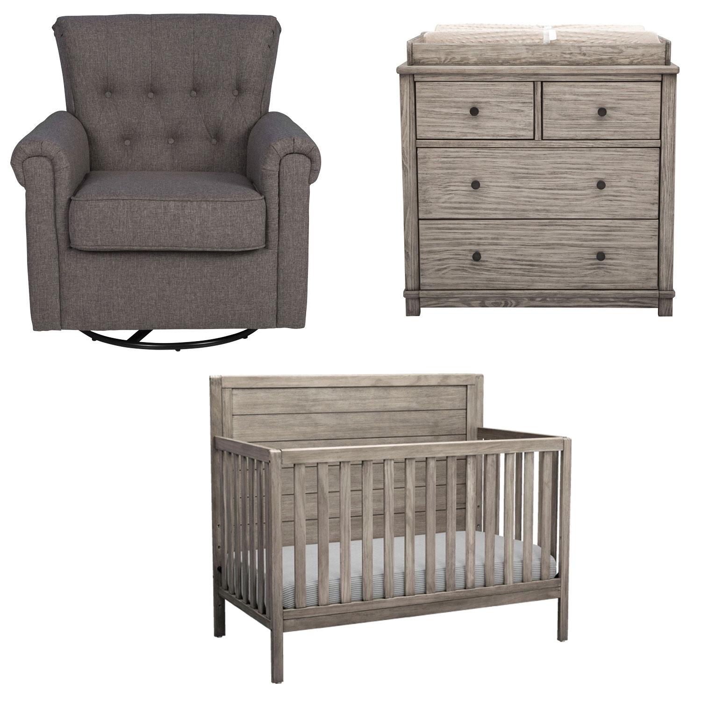 bundle baby gear - delta children cambridge nursery parts