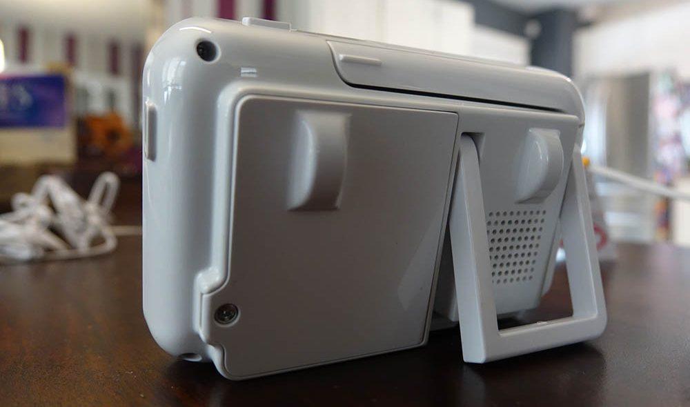 panasonic baby monitor review - Panasonic long-range baby monitor - monitor back