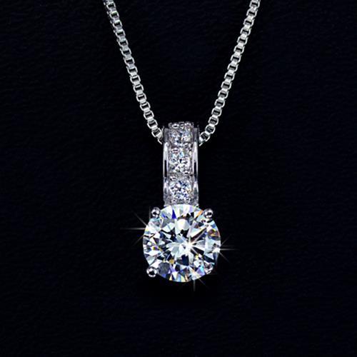 pendant necklace cubic zirconia