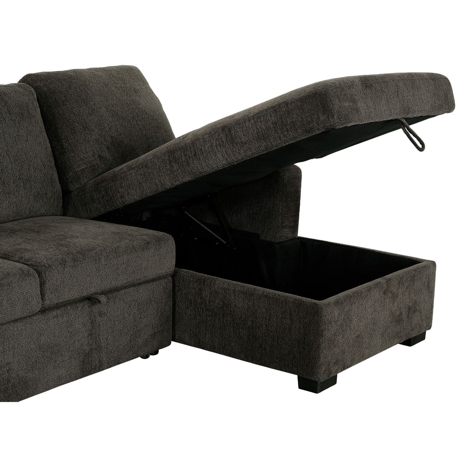 sofa bed with sleeper storage