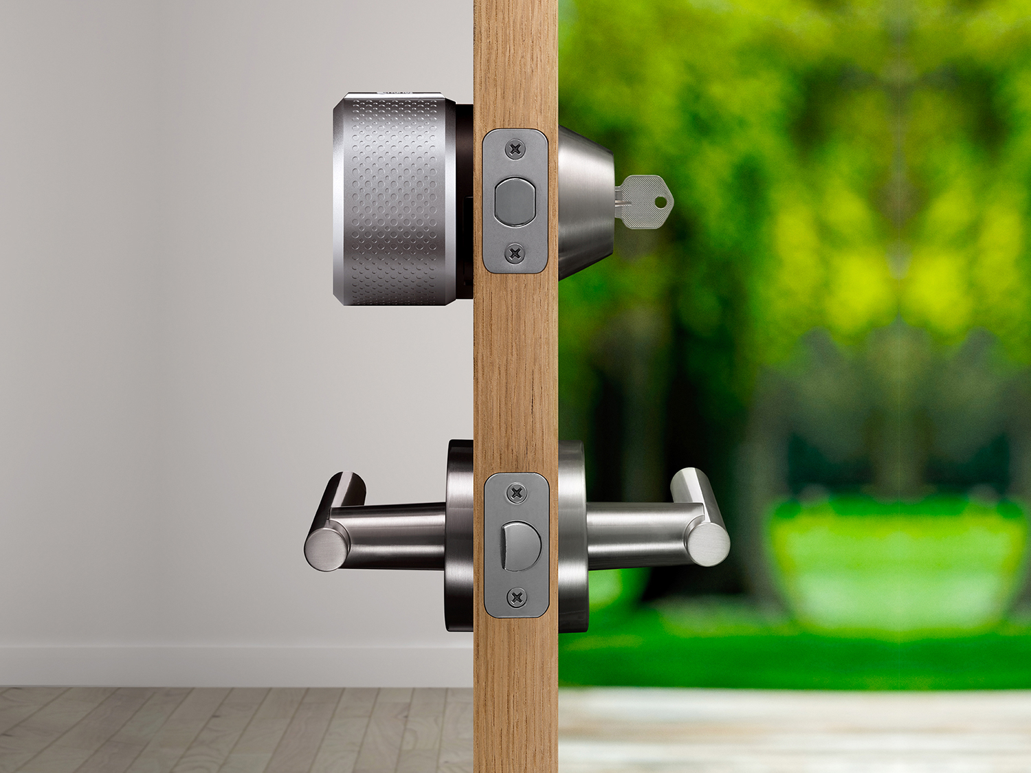 august lock, smart, home, security