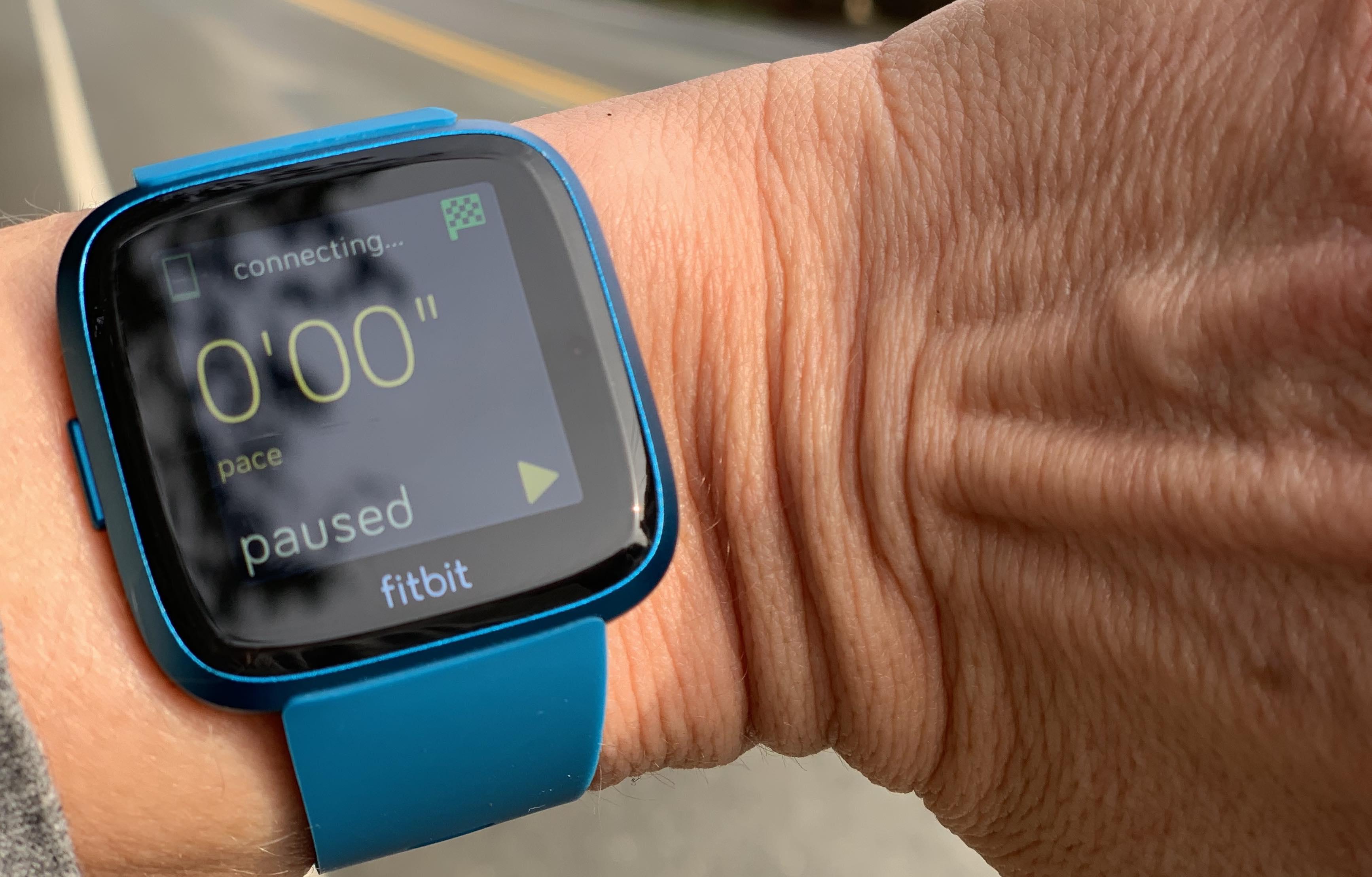 Fitbit Versa Lite Full Sun View