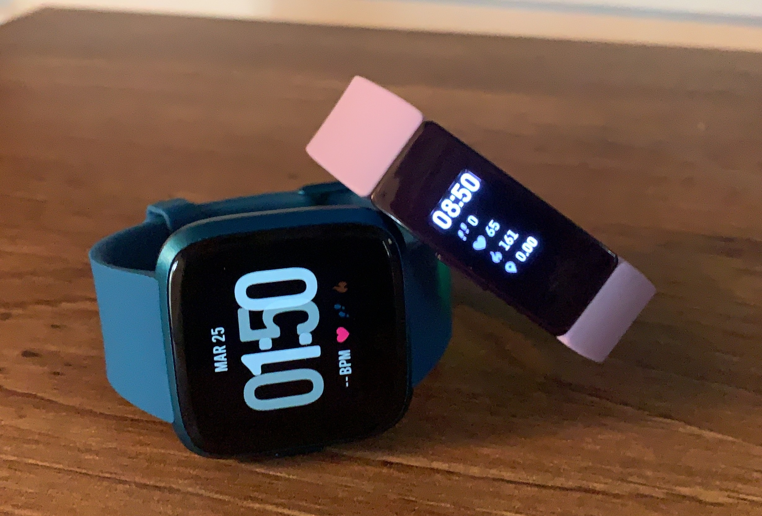 Fitbit Versa Lite and FItbit Inspire HR