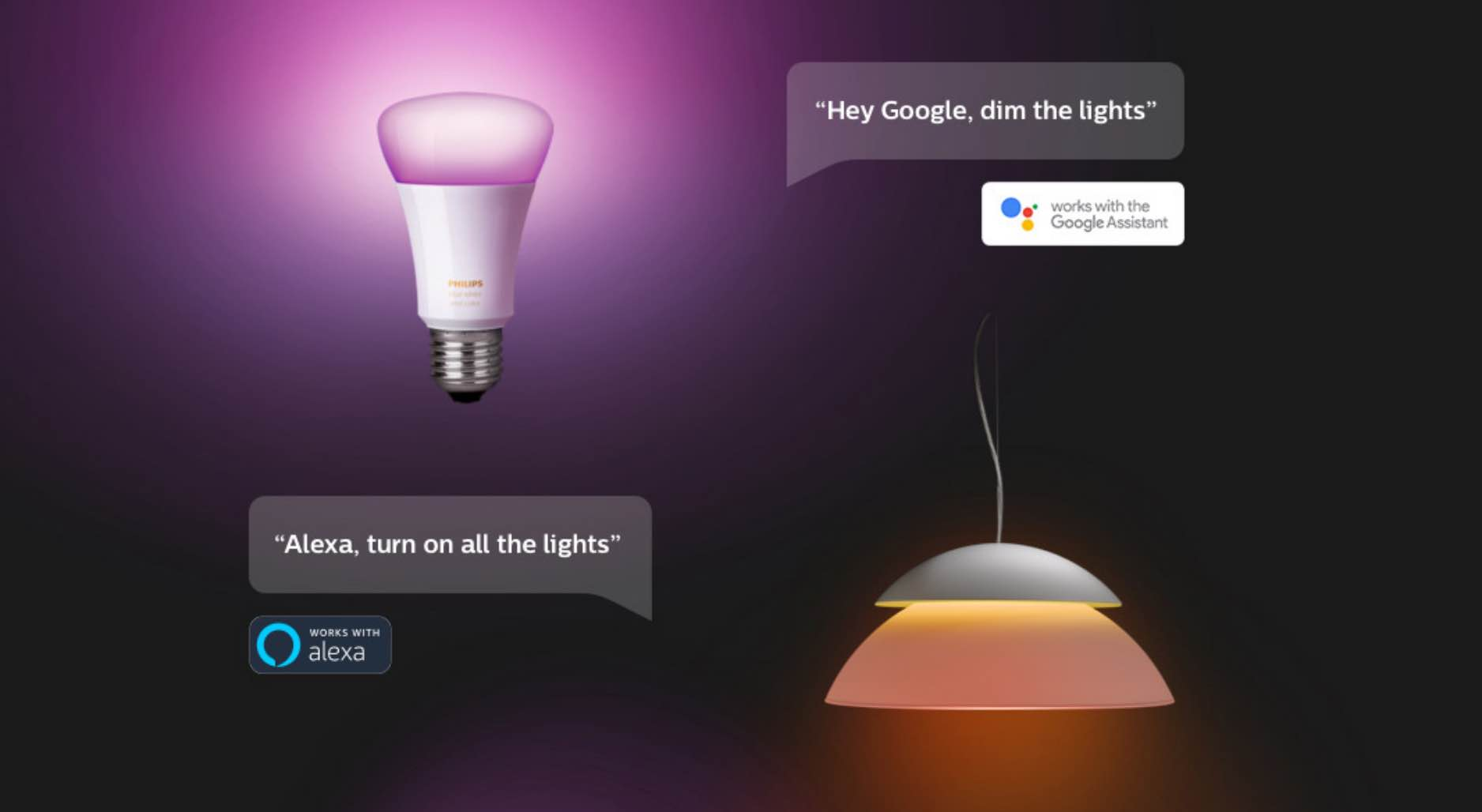 Philips Hue smart voice control