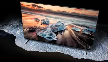 """Samsung 82"""" 8K UHD HDR QLED Tizen Smart TV"""