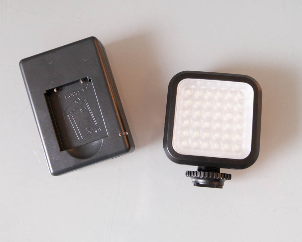 Photo of Ultimaxx Universal 36 LED Light with Mounting Bracket for Digital SLR and Video Cameras