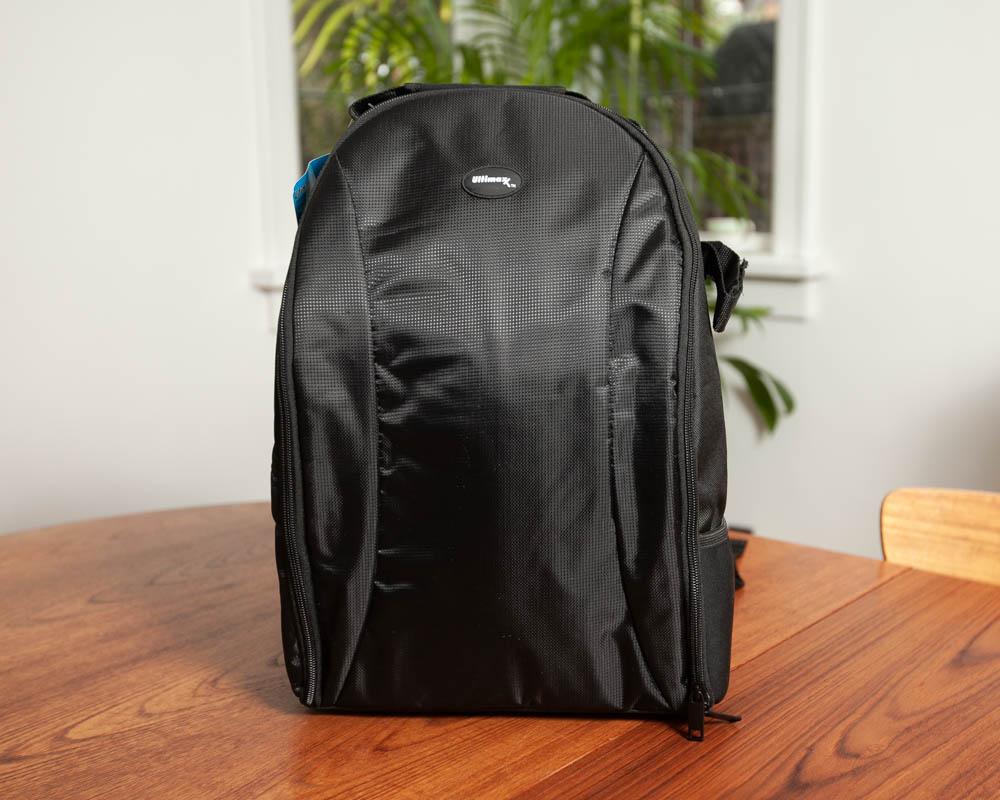 Photo of exterior of Ultimaxx Water Resistant Professional DSLR Camera Backpack with Customizable Accessory Dividers