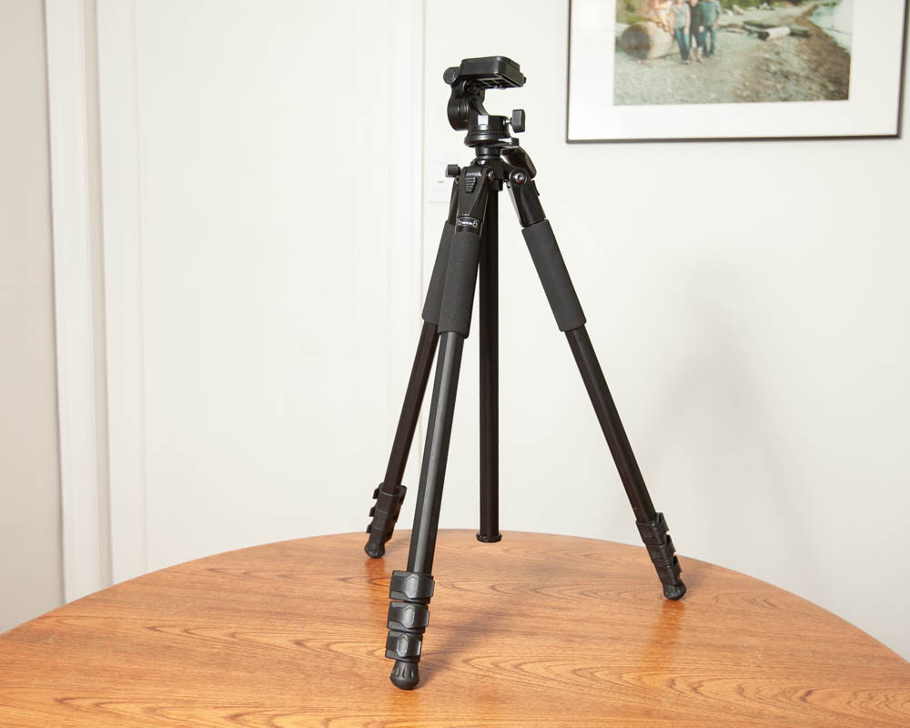 Photo of Ultimaxx 50'' Inch Lightweight Portable Camera Tripod