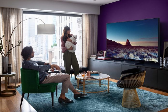 Samsung 8K UHDTV Big Screen