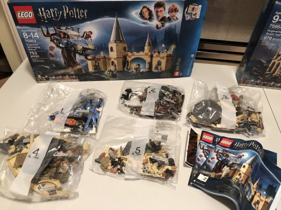 LEGO Harry Potter Whomping Willow Gallery