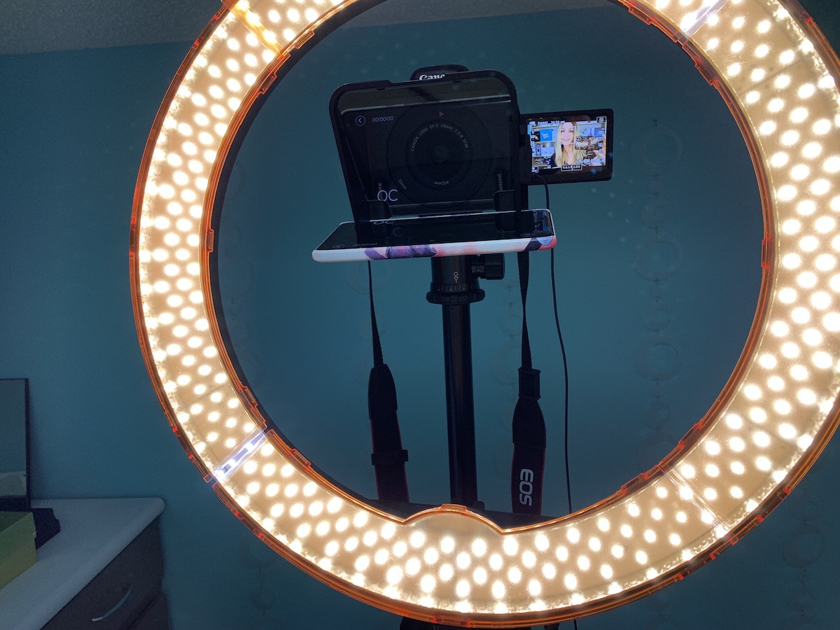 ultimaxx ring light, led, review