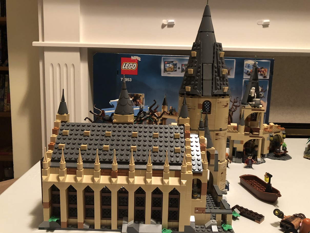 Lego Harry Potter Great Hall Complete