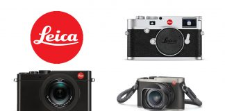 A collection of Leica cameras