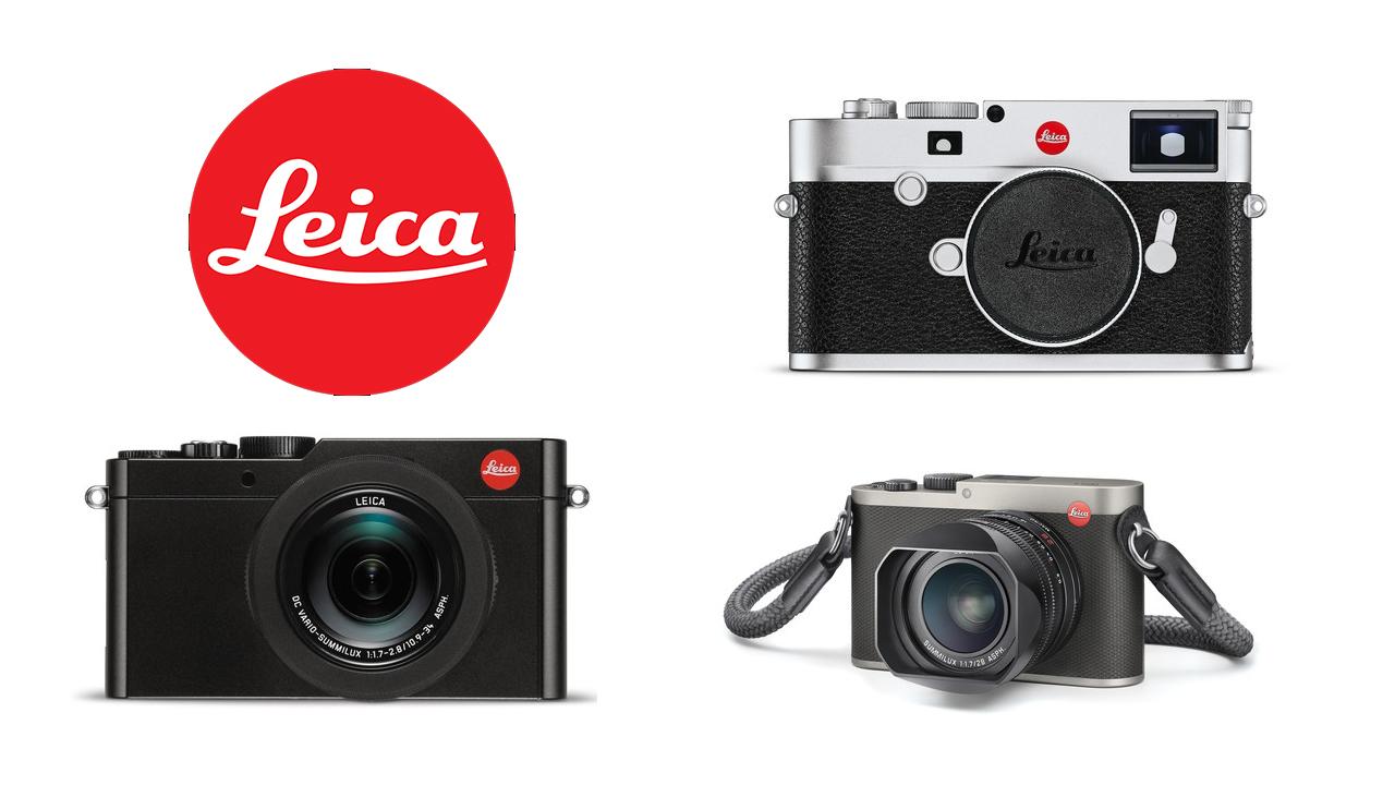 A collection of Leica cameras
