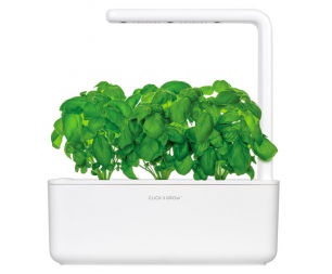 Click and Grow Smart Indoor Garden (SGS1US) with Basil Seed Capsule Refill