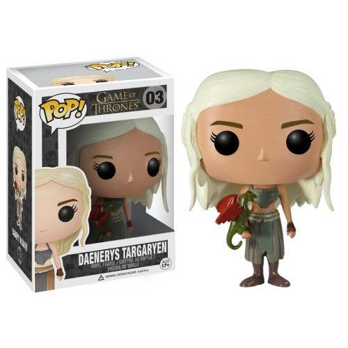 game of thrones collectibles - daenrys funk pop figure