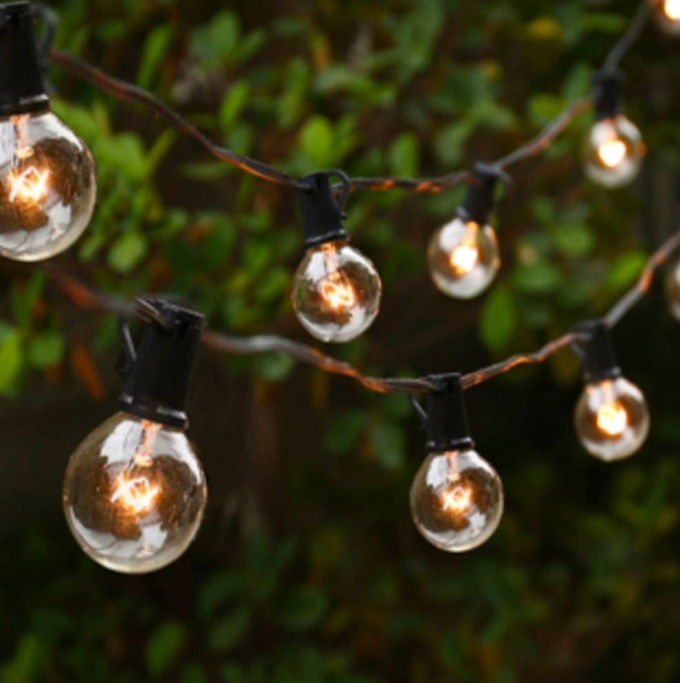 edison string patio lights