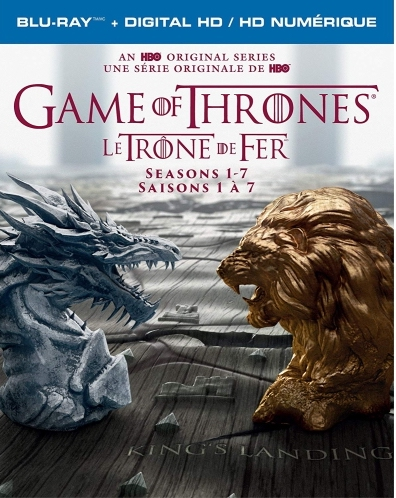 game of thrones collectibles - game of thrones blu-ray box set