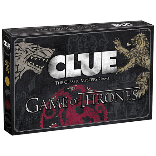 game of thrones collectibles - game of thrones clue