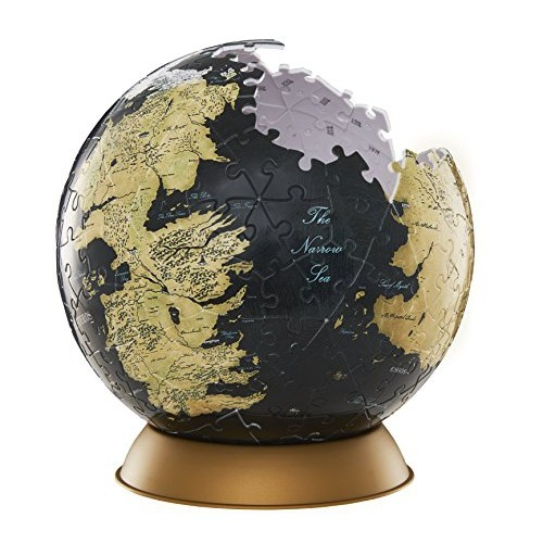 game of thrones collectibles - game of thrones globe puzzle